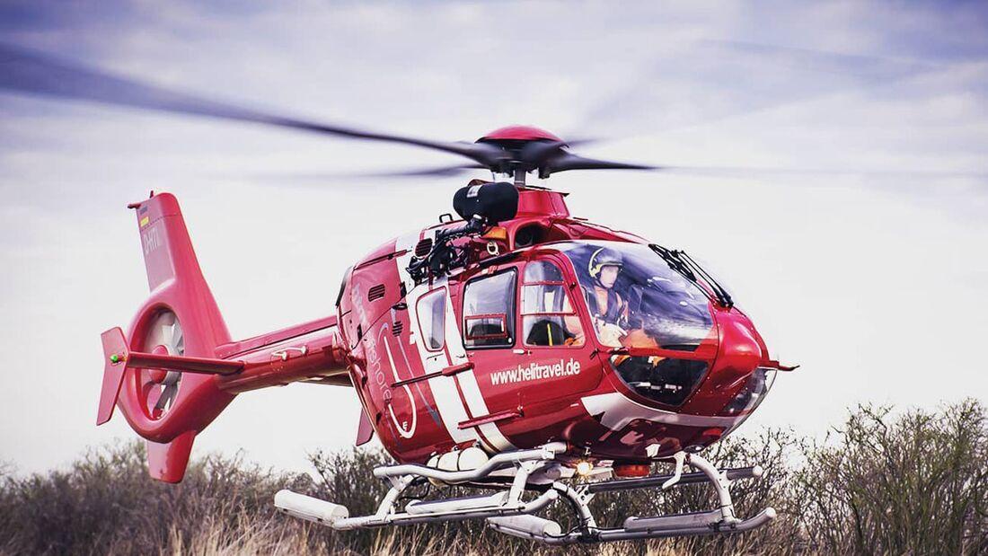 HTM setzt eine EC135 für die Marineflieger ein.