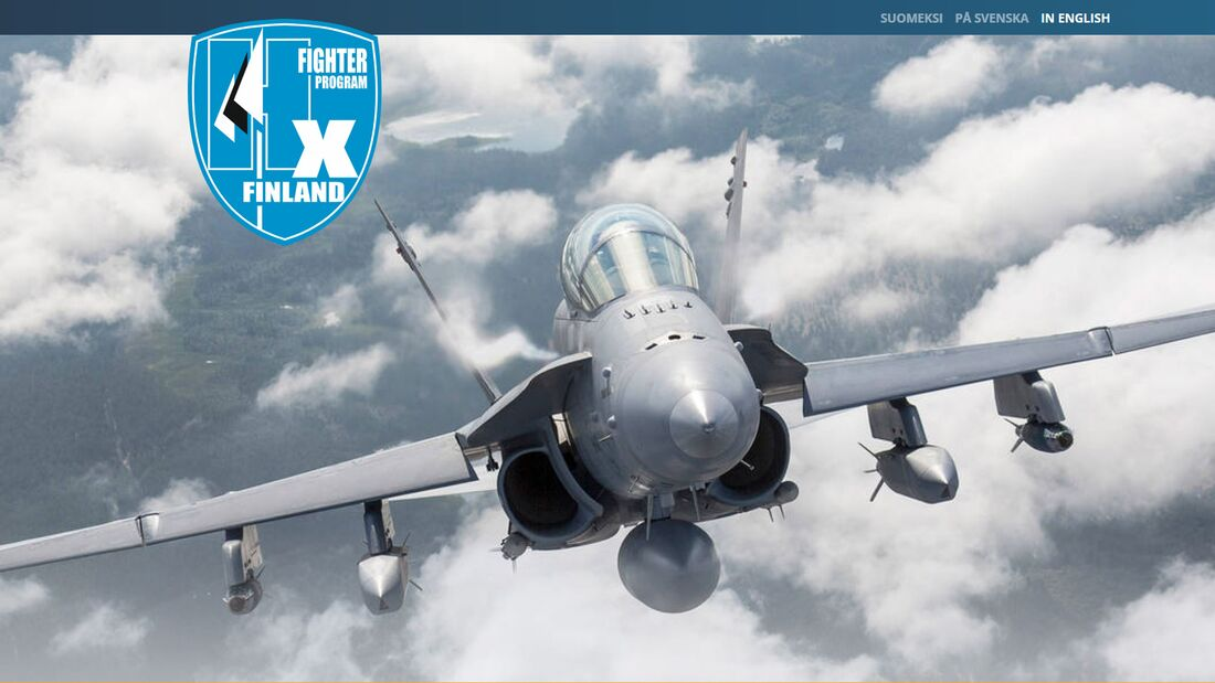 HX-Fighterwettbewerb in Finnland.