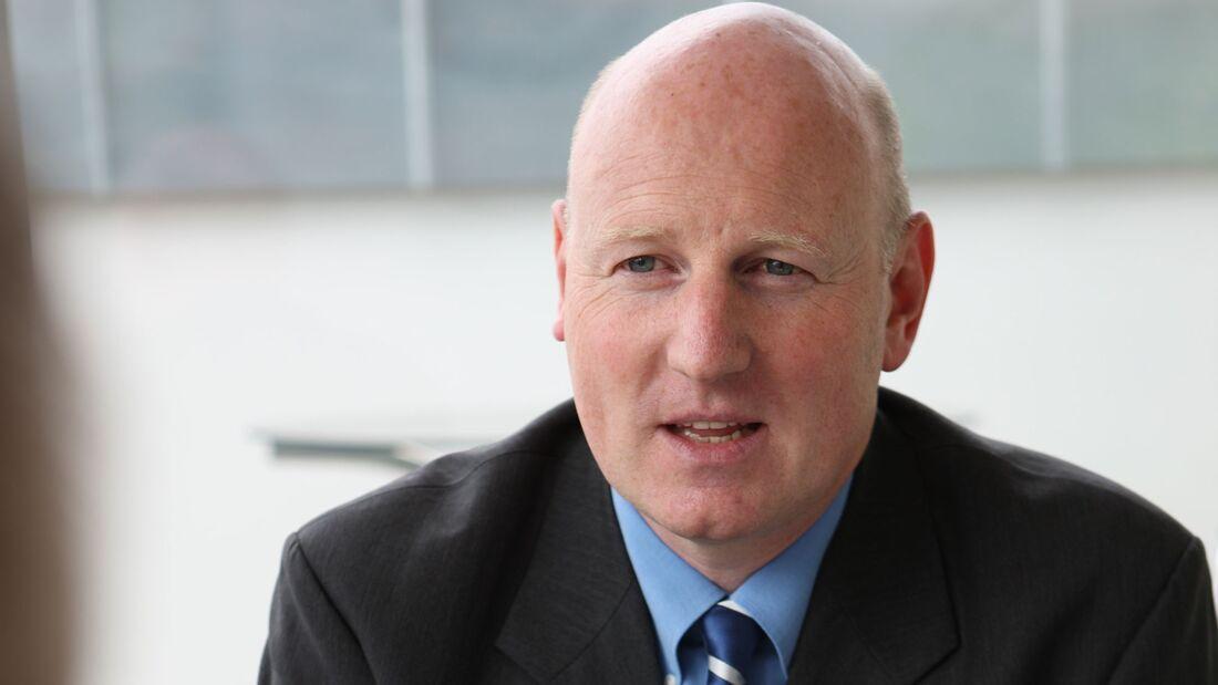 Harald W. Robl, Geschäftsführer der General Atomics Europe GmbH.
