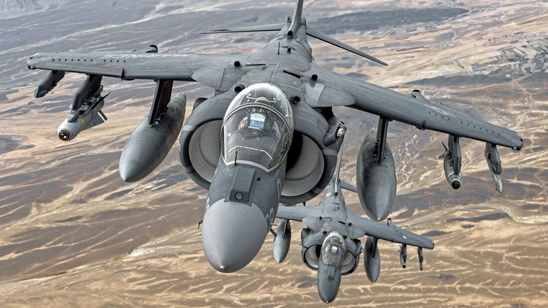Harriers Over Helmand