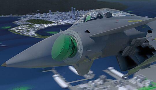 Hensoldt AESA-Radar für den Eurofighter.