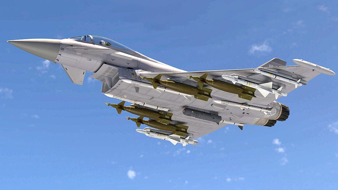 Hensoldt führt im Auftrag der Bundeswehr Studien zur Verbesserung des Eurofighter-Selbstschutzsystems durch.