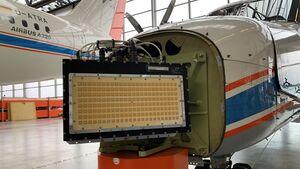 Hensoldt testet ein AESA-Radar für Detect & Avoid-Anwendungen in UAVs.