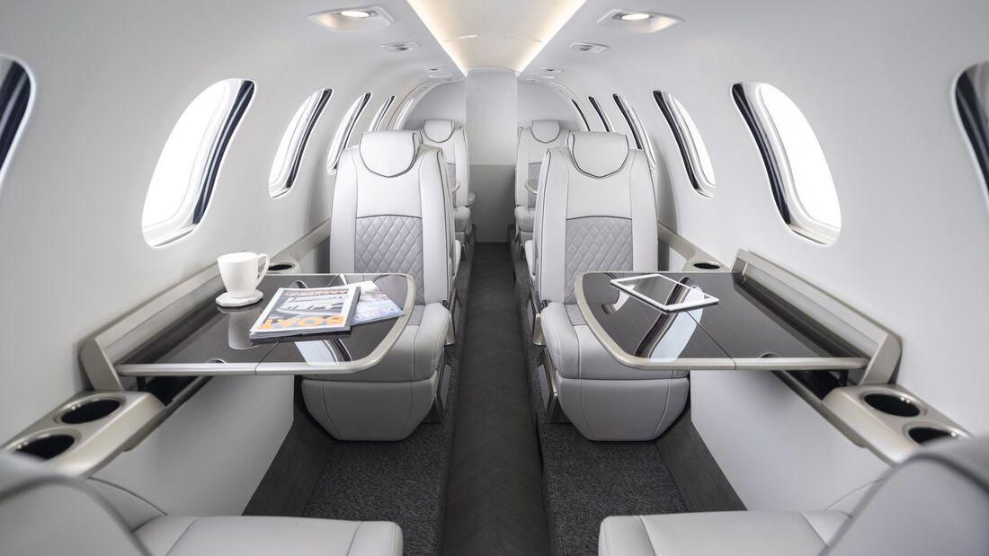 Honda Aircraft Company concept cabin