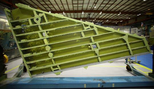 IAI baut die Flügel für die neuen Lockheed Martin F-16.