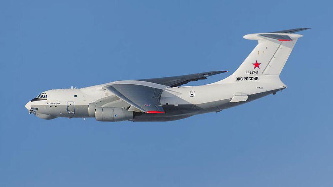 Iljuschin Il-78M-90, der neue Tanker für die russischen Luftstreitkräfte.