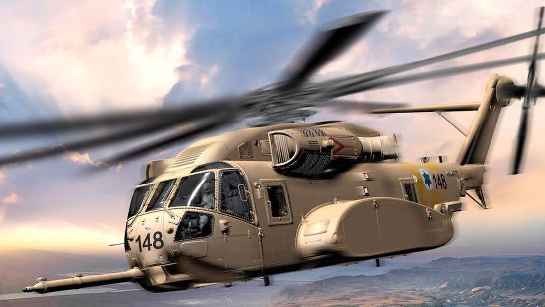 Israel hat die CH-53K von Sikorsky al Ersatz für seine alten CH-53D gewählt.