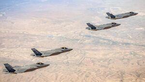 Israelische F-35I und F-35A der US Air Force übten im März gemeinsam über Israel.
