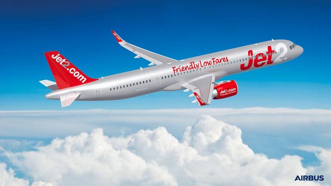 Jet2.com wird neuer Kunde für den Airbus A321neo.