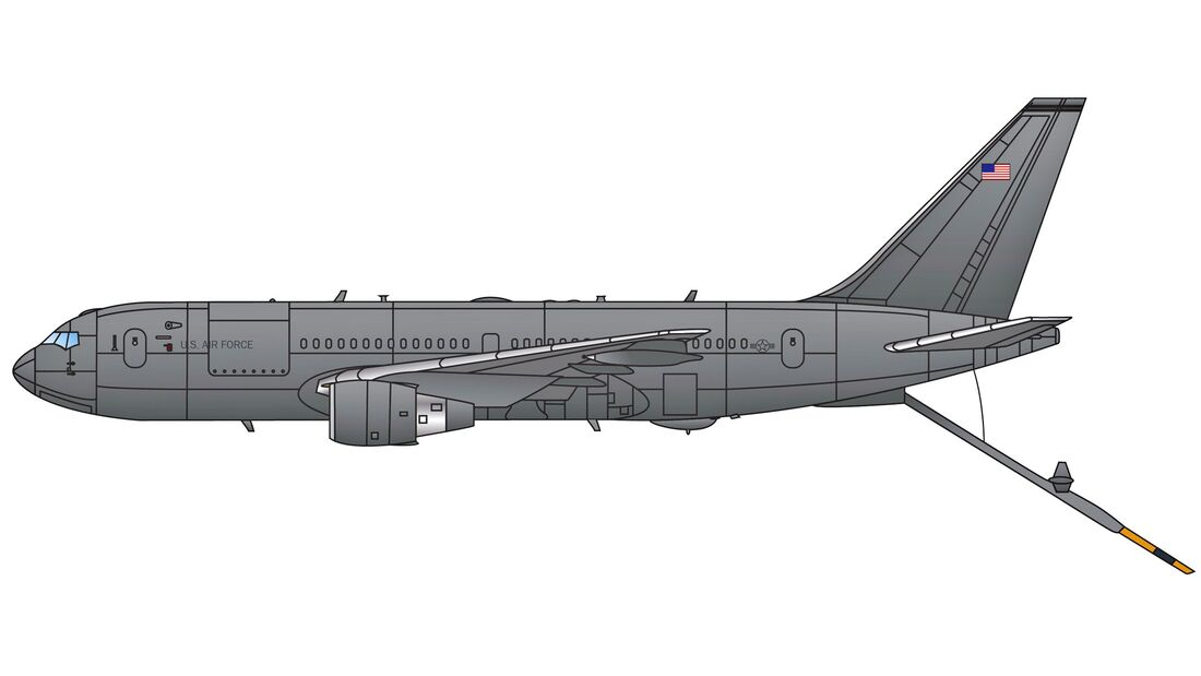 KC-46A Pegasus illustration