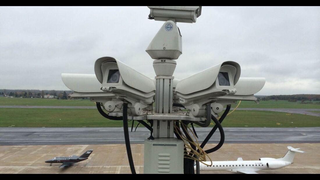 Kameras helfen bei der ganzheitlichen Videoerfassung der Situation vor Ort.