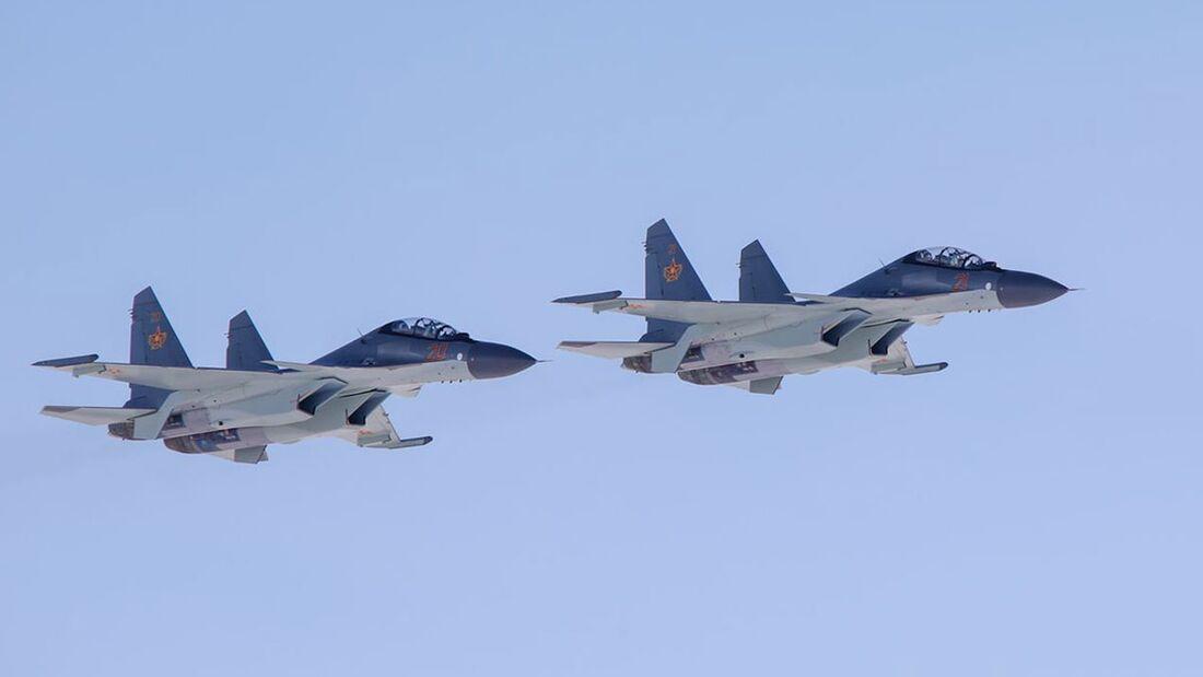 Kasachstan hat weitere Suchoi Su-30SM erhalten.