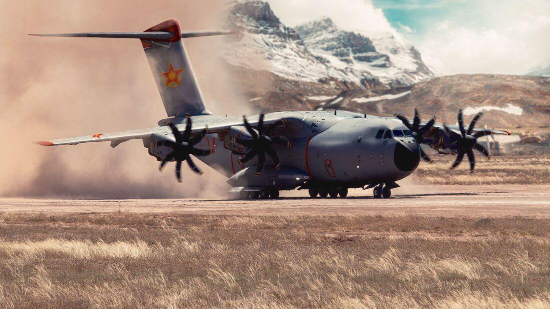 Kasachstan hat zwei A400M bei Airbus bestellt.