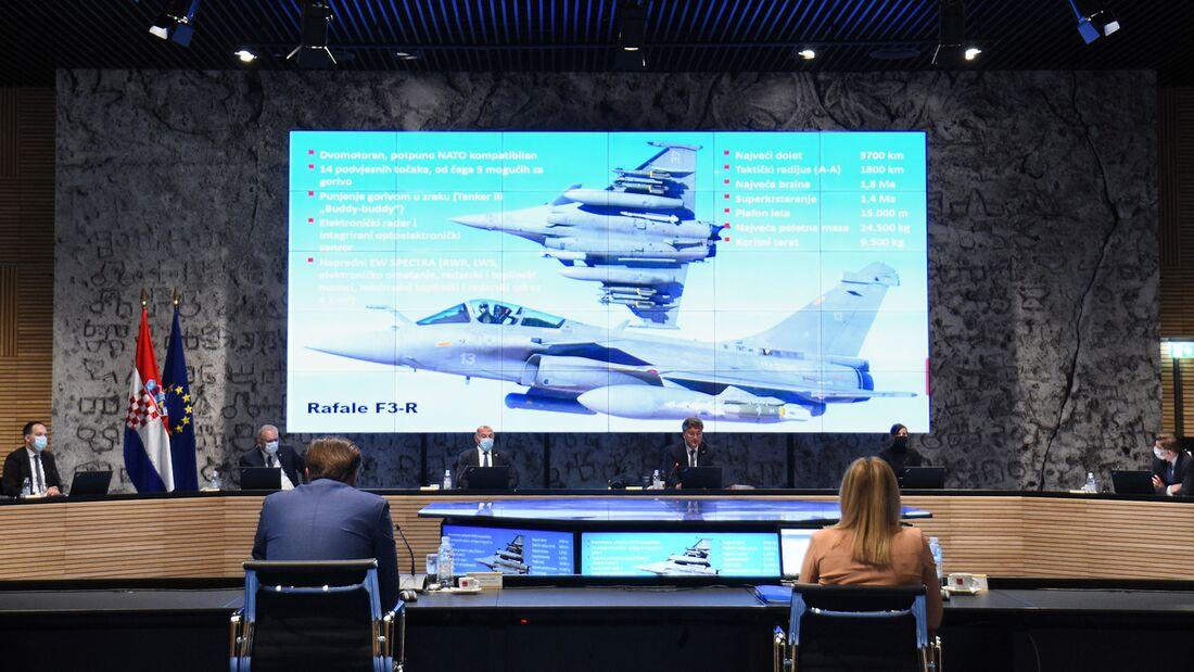 Kroatien hat sich für den Kauf von zwölf gebrauchten Rafale im Wert von einer Milliarde Euro entschieden.