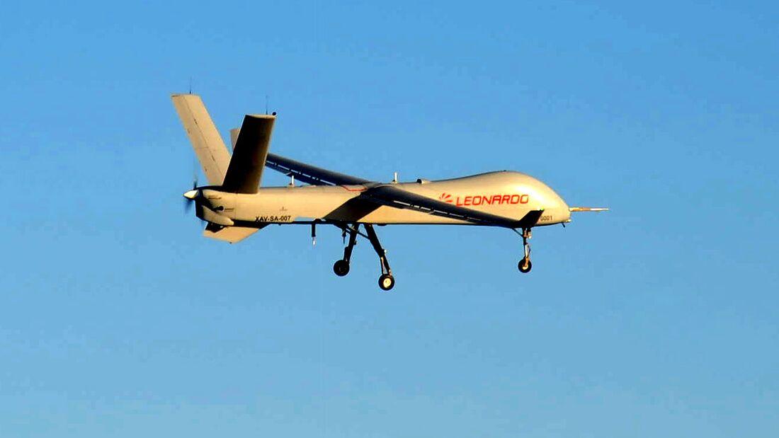 Leonardo Falco Xplorer beim Erstflug im Januar 2020.