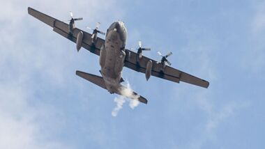 Lockheed Martin AC-130W Stinger II des Special Operations Commands.