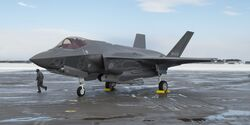 Lockheed Martin F-35A der Japan Air Self Defence Force in Misawa.
