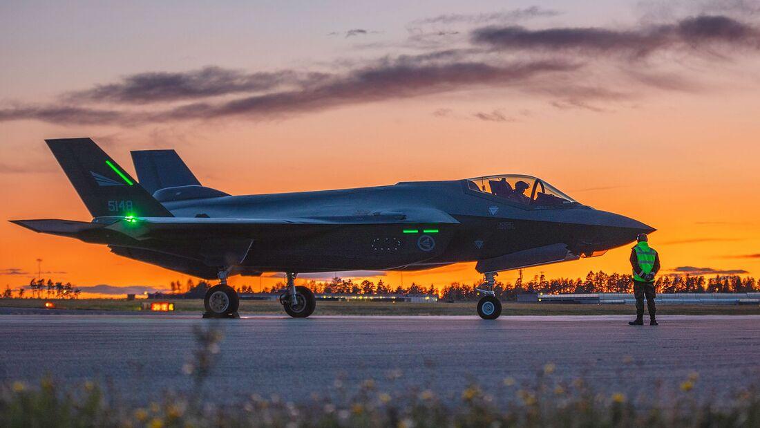 Lockheed Martin F-35A der Luftforsvaret.