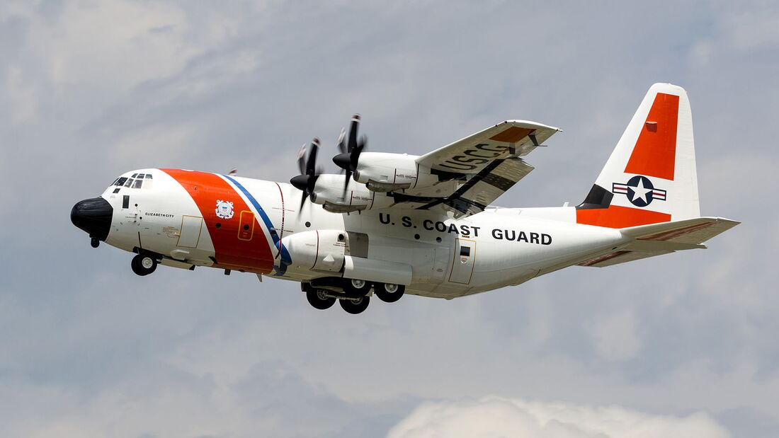 Lockheed Martin HC-130J der US Coast Guard.