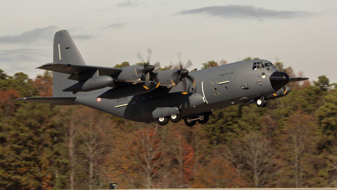 Lockheed Martin KC-130J Super Hercules für die Armée de l´Air.