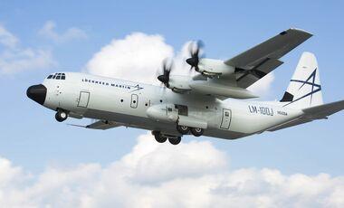 Lockheed Martin LM-100J Frachter ist zugelassen.