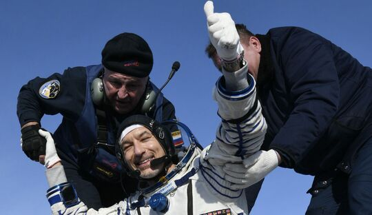 Luca Parmitano ist am 6. Februar 2020 von der ISS zur Erde zurückgekehrt.