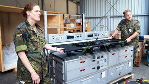 Lufthansa Technik lieferte neue Patienten-Transporteinheiten für die A330 MRTT der NATO-Länder.