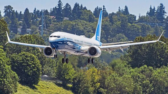 MAX-10 First Flight Landing Boeing Field Seattle