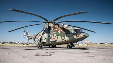 Mi-26T2W im August 2018 bei Rostvertol.