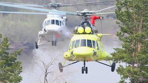 Mil Mi-8AMT von UTAir.