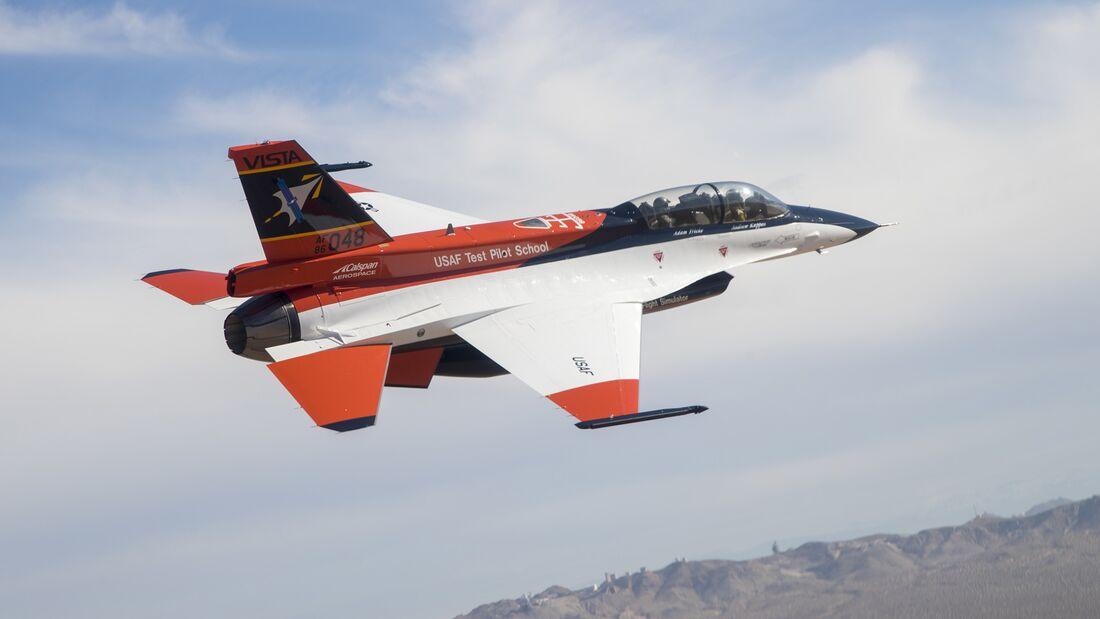 NF-16D VISTA becomes X-62A, paves way for Skyborg autonomous flight tests