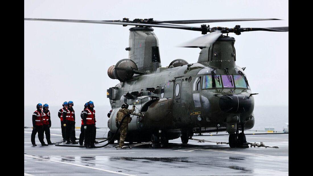 Nach einer Übungsfahrt im September 2021 wurde der Flugzeugträger HMS Prince of Wals für einsatzbereit erklärt.
