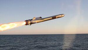 Naval Strike Missile (NSM) von Kongsberg.