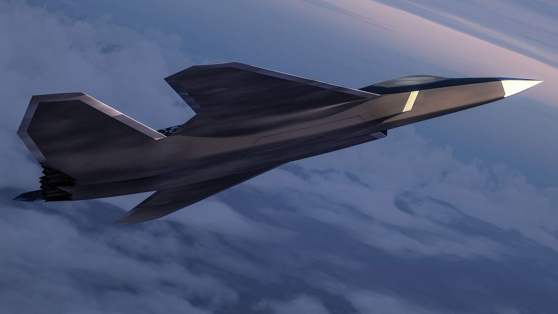 Next Generation Fighter: Konzept von Dassault/Airbus.