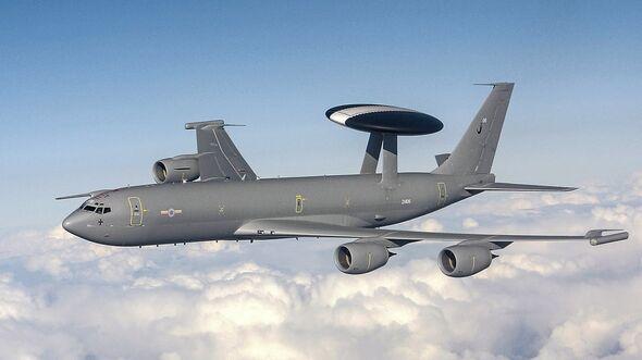 Nimrod E-3D Sentry Air Early Warning Aircraft
