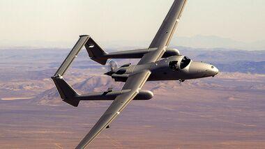 Northrop Grumman Firebird fliegt bemannt und unbemannt.
