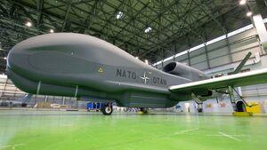 Northrop Grumman RQ-4D in Sigonella.