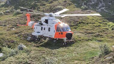 Norwegen nutzt nun Leonardo AW101-Hubschrauber für den Rettungsdienst.
