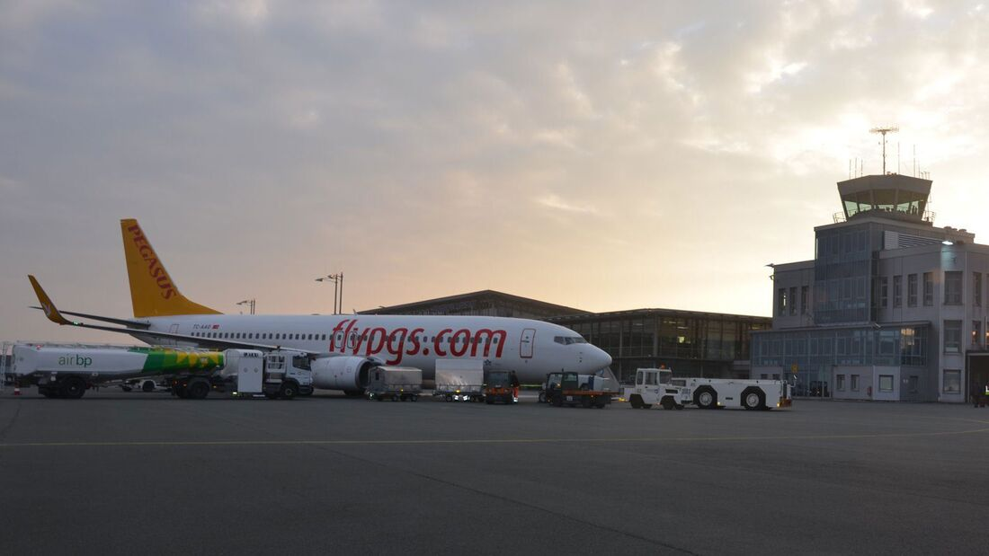 Paderborn-Lippstadt Airport.