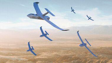 Paramount vermarktet seine N-Raven-Drohnenfamilie mit der Fähigkeit zu autonomen Operationen im Schwarm.