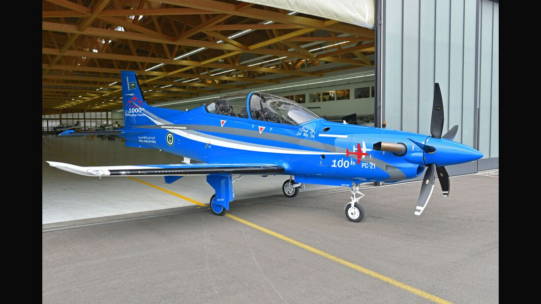 Pilatus PC-21 für Saudi-Arabien.