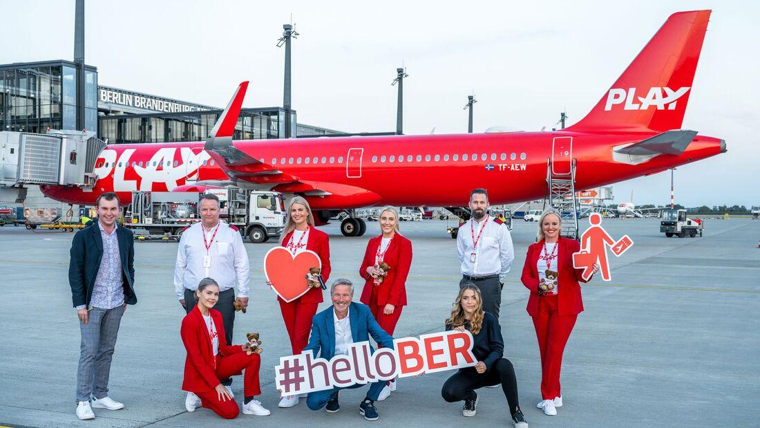 Play aus Island fliegt auch den BER in Berlin an.
