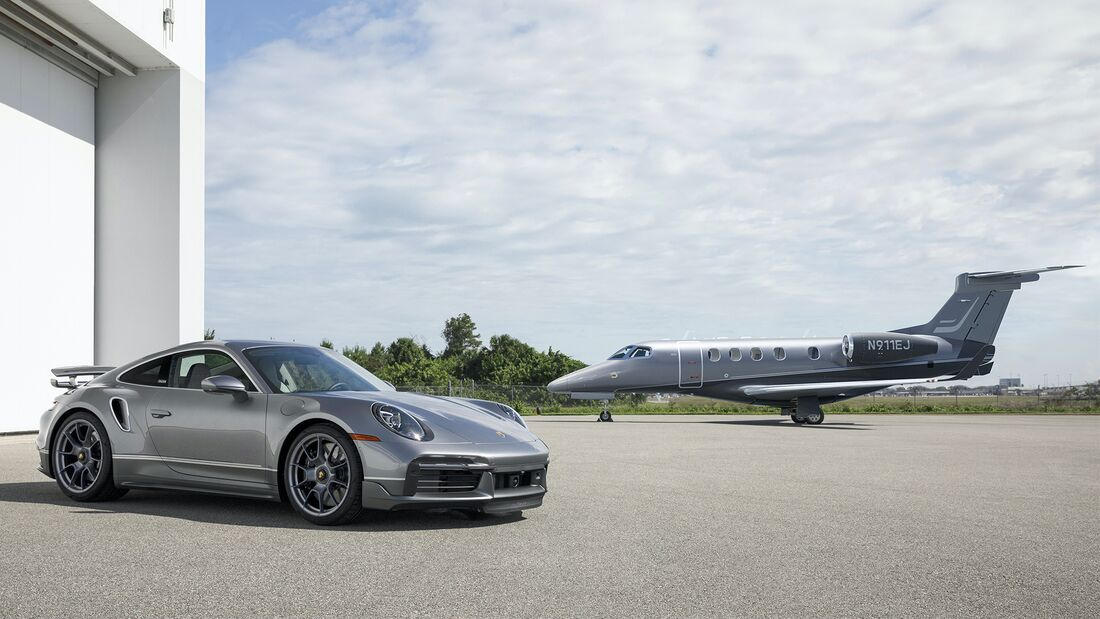 Porsche 911 Turbo S Phenom 300E Jet Duet