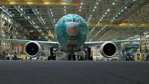 Produktion der Boeing 777 in Everett.