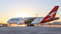 Qantas Airbus A380 mit neuer Kabinenausstattung