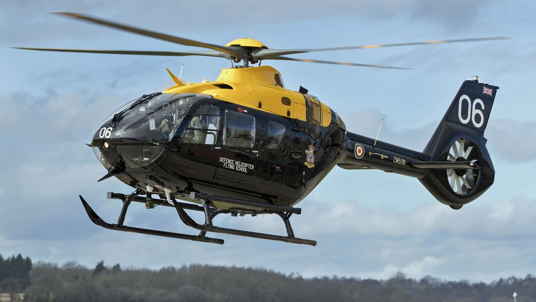 RAF Airbus EC135T3 (JUNO HT1) Helicopter