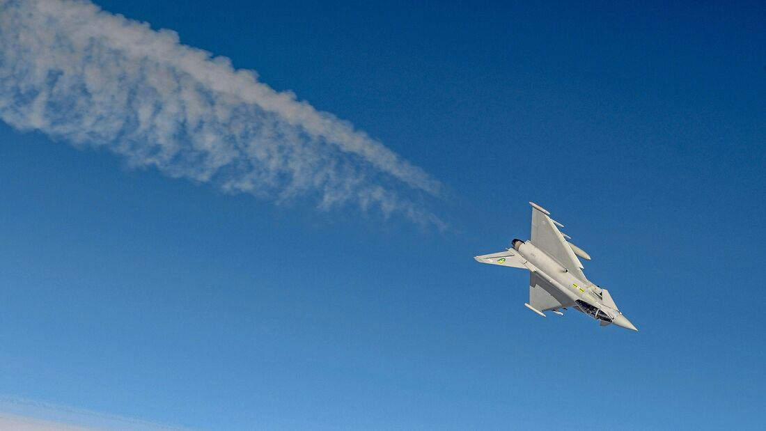RAF Typhoon Aircraft