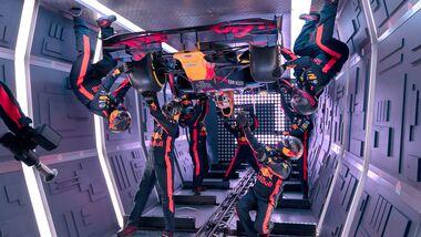 Red Bull - Boxenstopp in Schwerelosigkeit - Parabelflug - 2019