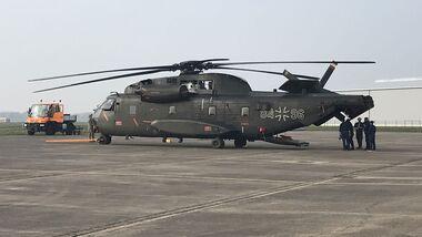Rheinmetall Aviation Services wartet nun in Diepholz CH-53G der Luftwaffe.