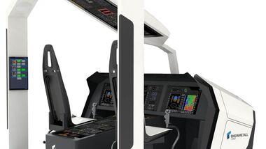 Rheinmetall liefert einen Asterion-Trainer für das Marinefliegergeschwader 5 in Nordholz.